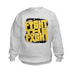 Fight The Fight Neuroblastoma Kids Sweatshirt