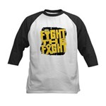 Fight The Fight Neuroblastoma Kids Baseball Jersey