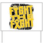 Fight The Fight Neuroblastoma Yard Sign