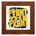 Fight The Fight Neuroblastoma Framed Tile