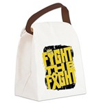 Fight The Fight Neuroblastoma Canvas Lunch Bag