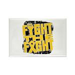 Fight The Fight Neuroblastoma Rectangle Magnet