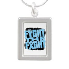 Fight The Fight Prostate Cancer Silver Portrait Ne