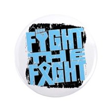 """Fight The Fight Prostate Cancer 3.5"""" Button (100 p"""