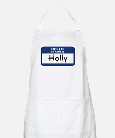 Hello: Holly BBQ Apron