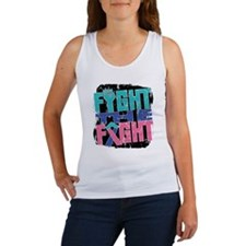 Fight The Fight Thyroid Cancer Women's Tank Top