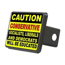 CAUTION Hitch Cover