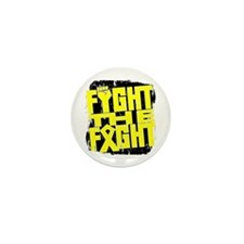 Fight The Fight Testicular Cancer Mini Button