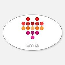 I Heart Emilia Decal