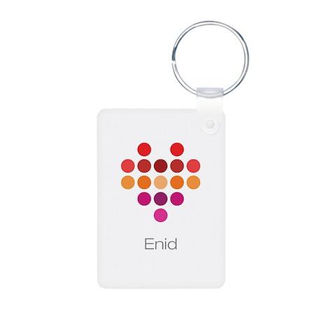I Heart Enid Keychains