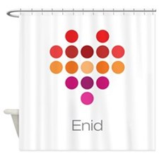 I Heart Enid Shower Curtain