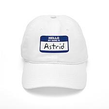 Hello: Astrid Baseball Cap