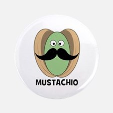 """The Great Mustachio 3.5"""" Button"""