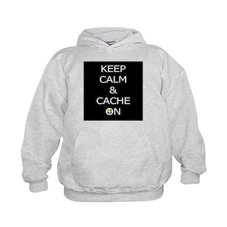 Keep Calm & Cache On Hoodie