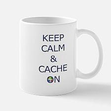 Keep Calm & Cache On Mug