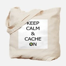 Keep Calm & Cache On Tote Bag