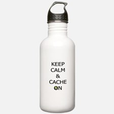 Keep Calm & Cache On Water Bottle