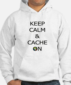 Keep Calm & Cache On Hoodie