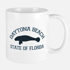 Daytona Beach - Manatee Design. Mug