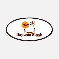 Daytona Beach - Palm Trees Design. Patches