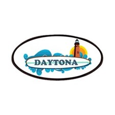 Daytona Beach - Surf Design. Patches