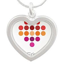 I Heart Erin Silver Heart Necklace
