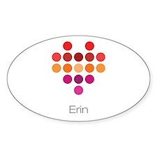 I Heart Erin Decal