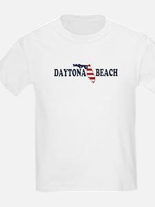 Daytona Beach - Map Design. T-Shirt