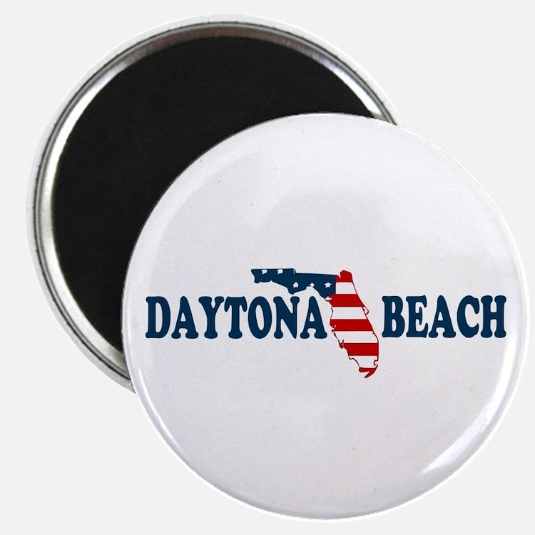 Daytona Beach - Map Design. Magnet