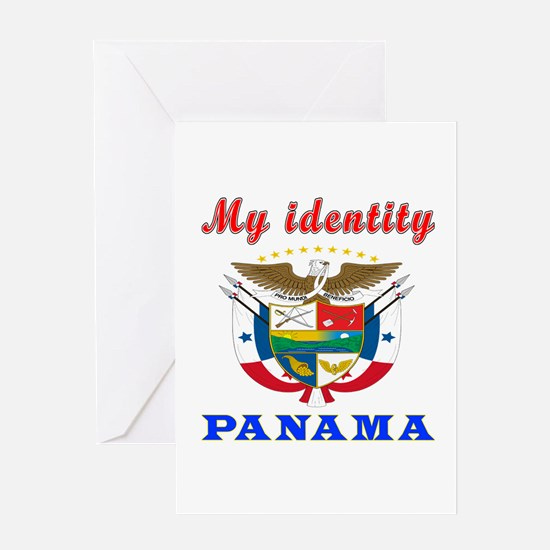My Identity Panama Greeting Card