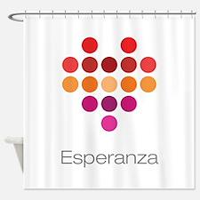 I Heart Esperanza Shower Curtain