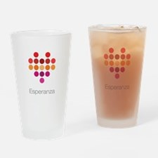 I Heart Esperanza Drinking Glass