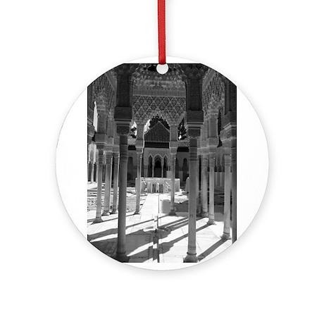 The Alhambra Ornament (Round)