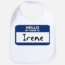 Hello: Irene Bib