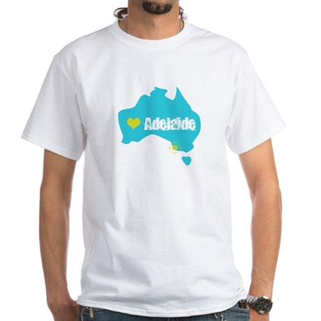 Love Adelaide White T-Shirt
