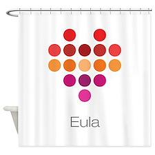 I Heart Eula Shower Curtain