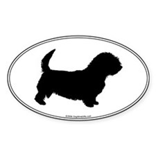 Glen Silhouette Oval Decal