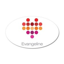 I Heart Evangeline Wall Decal