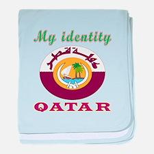 My Identity Qatar baby blanket