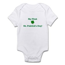 My First St. Patricks Day! Body Suit