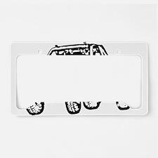 Jump Truck License Plate Holder