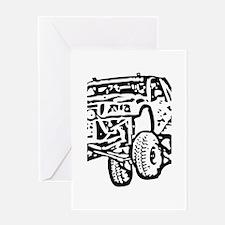 Jump Truck Greeting Card