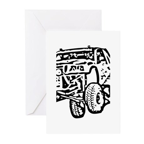 Jump Truck Greeting Cards (Pk of 10)