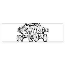 Jump Truck Bumper Bumper Stickers