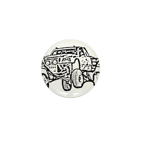 Jump Truck Mini Button (10 pack)