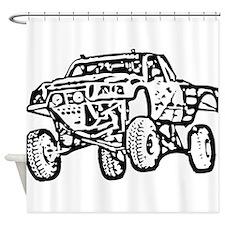 Jump Truck Shower Curtain