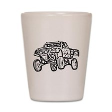 Jump Truck Shot Glass