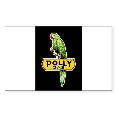 Polly Gas Sticker