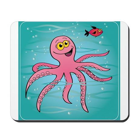 Funky Octopus Mousepad