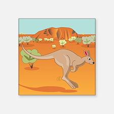 Happy Kangaroo Sticker
